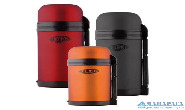 Термос Thermos THERMOcafe by Thermos Multi Purpose Flask - Gun Metal (0.8л)