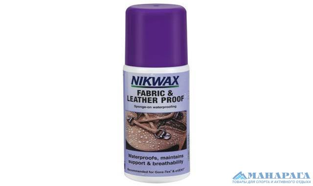 Пропитка Nikwax Fabrick&Leather