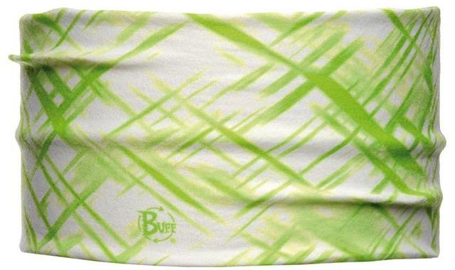 Повязка BUFF 61274 HEADBAND BUFFR CROSS BLANC/VERD