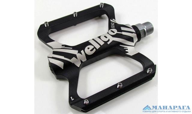Педали Wellgo B242 BMX/DOWNHILL алюм.