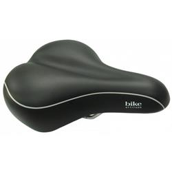 Седло Bike Attitude Gent Saddle D2 Gel Black