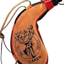 "Фляга Laken Pocket PK 500-C кожа ""капля"" screw cap 0.5"