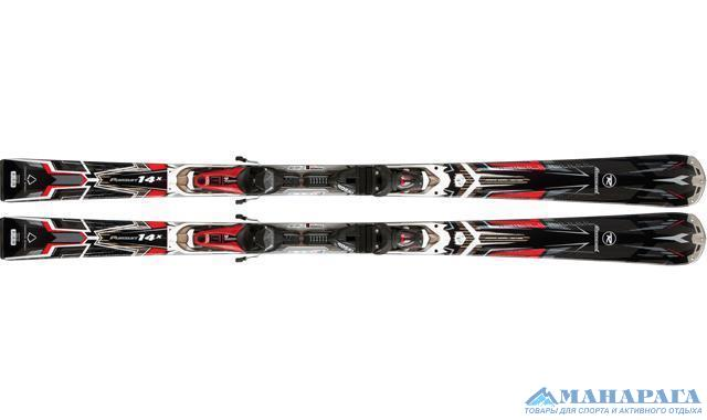 Лыжи Rossignol /12-13/ Pursuit 14X Ar/Bslt cent.TPI2 +креп. AXM