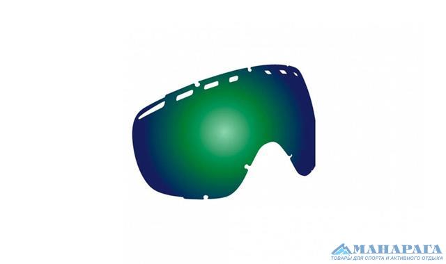 Сменная линза Dragon Rogue Rpl Lens - Green lon 722-2398