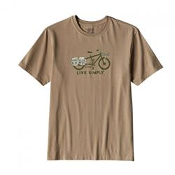 Футболка Patagonia LIVE SIMPLY CARGO BIKE COTTON T-SHIRT