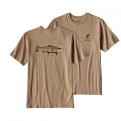 Футболка Patagonia WORLD TROUT RIO TIGRE COTTON T-SHIRT