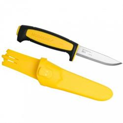 Нож Morakniv Basic 511, 2020, Black/Yellow